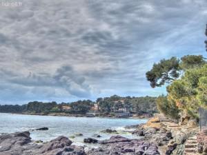 Agay et la mer