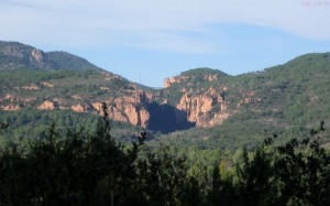 Gorges du Blavet vue loin