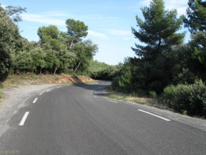Route vers le Verdon