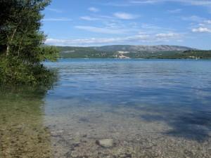 Crique lac de Sainte-Croix