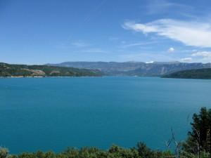 Lac de Sainte-Croix plan large