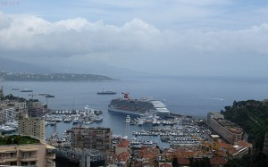 Monaco port et paquebot