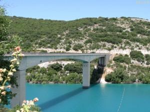Pont lac de Ste-Croix Verdon