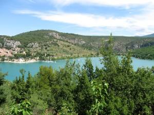 Sainte-Croix port et lac