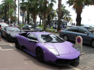 Lamborghini et Mercedes - Cannes